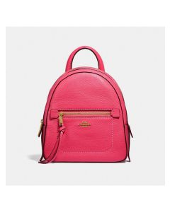 Coach Andi Backpack in Pebble Leather Rose